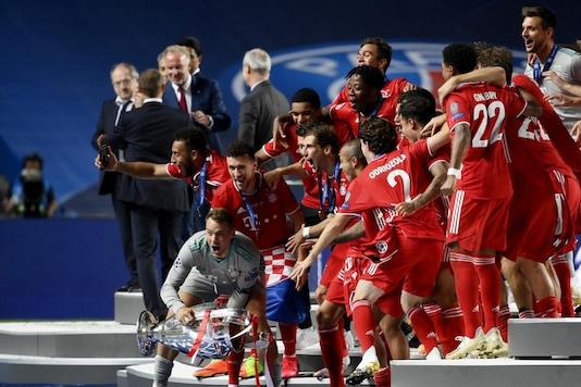 Bayern Munich celebrating their Champions League triumph. (Photo Credit: Reuters)