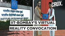 IIT-Bombay Graduates' 3-D Avatars Received Degrees In Virtual Reality Convocation