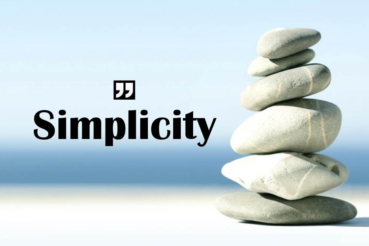 Mindfulness: Complex Ideas Can Co-Exist With Simple Changes