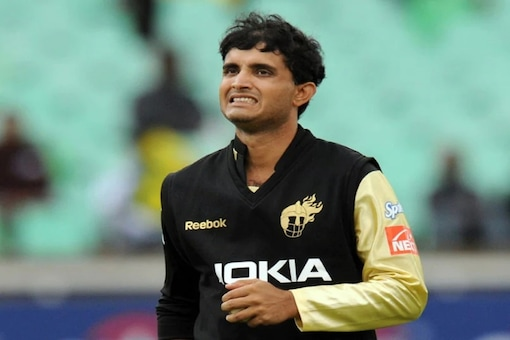 Sourav Ganguly played for KKR in the first three editions of IPL. Photo AFP