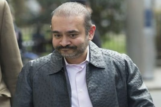A file photo of fugitive diamantaire Nirav Modi.