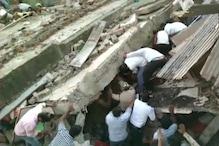 Three-storey Residential Building Collapses in Madhya Pradesh's Dewas, 9 Rescued