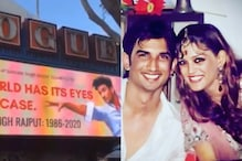 Sushant Singh Rajput's Sister Shares Video of His Billboard in Hollywood, 'Grateful' for Support