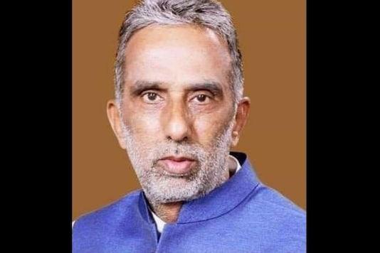 Photo of Union Minister Krishan Pal Gurjar. (Twitter)