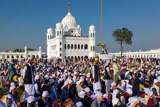 For Representation. A file photo of the Gurdwara Darbar Sahib in Kartarpur, Pakistan. (Image: PTI)