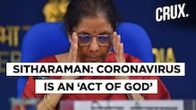 FM Nirmala Sitharaman Says Coronavirus Pandemic May Lead to Economic Contraction