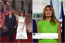 Melania Trump's Green Dress to RNC is a Clean Slate for Meme Lords