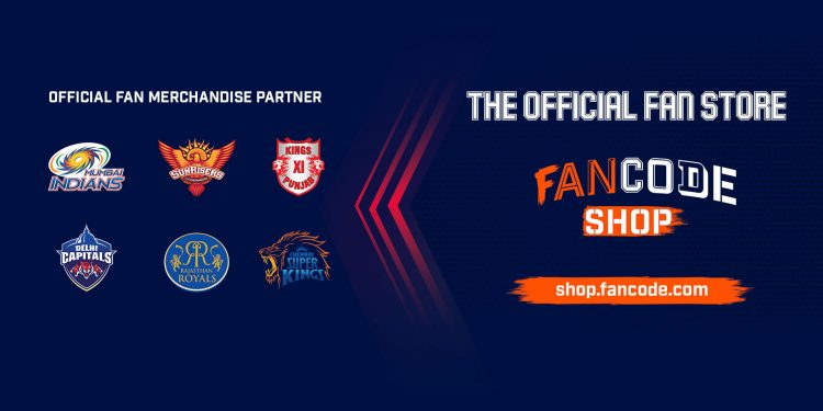 FanCode Ties-up With Six IPL Teams for Fan Merchandise