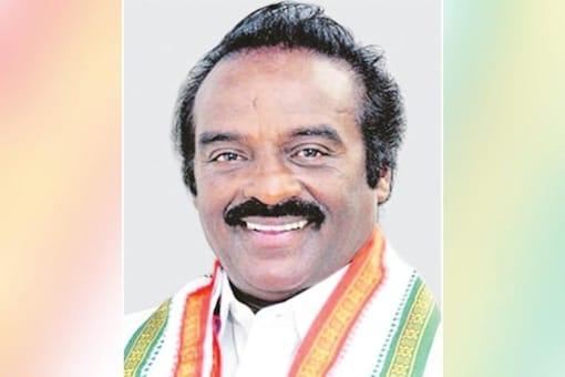 File photo of Karnataka MP H Vasanthakumar.