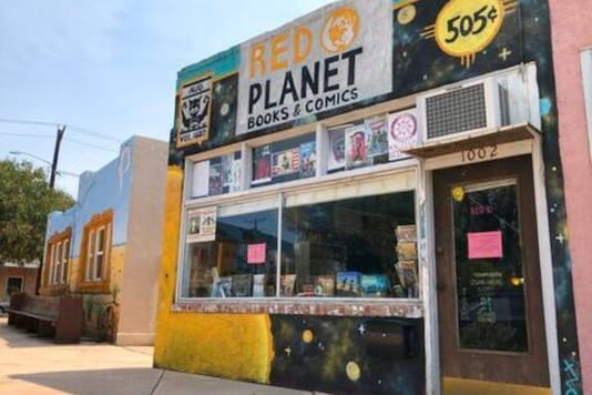 Red Planet Books & Comics in Albuquerque.The anthology will revisit some of Marvel's Native characters. Credits: AP