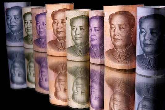 (Representative image) Chinese Yuan banknotes. REUTERS/Dado Ruvic/Illustration/Files