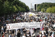 Germany Protest Photos: Thousands of People Protest in Berlin Against COVID-19 Rules