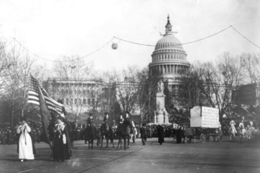 Suffrage anniversary commemorations highlight racial divide