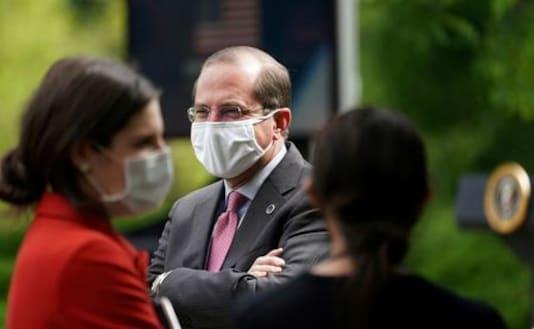 U.S. health secretary says Taiwan trip is to reaffirm partnership