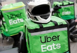 Uber rides demand eviscerated by COVID-19; food-delivery business doubles