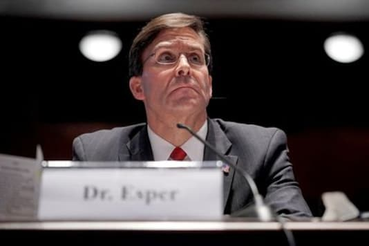 Esper: U.S. will cut troop levels in Afghanistan to 'less than 5,000'
