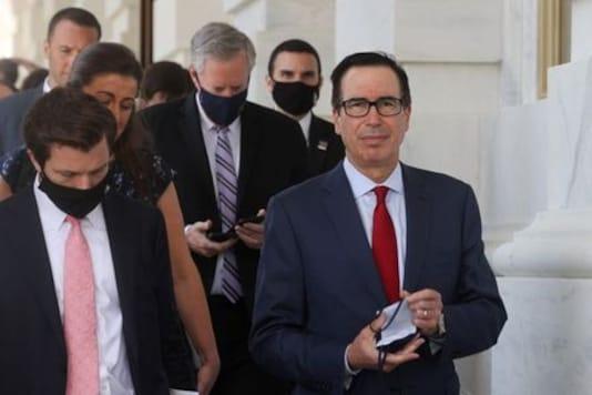 White House, Democrats show no sign of budging on U.S. coronavirus aid