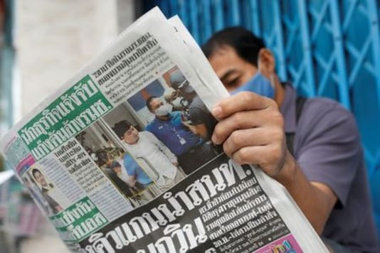 Thai student released on bail vow to continue anti-government protests
