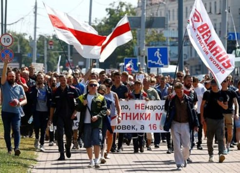 European Union Leaders to Support Belarusian Protesters, Tell Russia to Stay Out