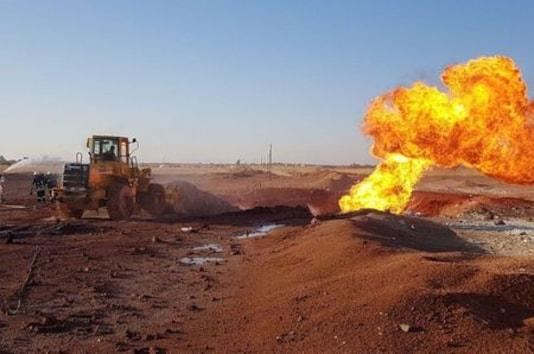 Syria Says Pipeline Blast Was Terrorist Attack, U.S. Suspects IS