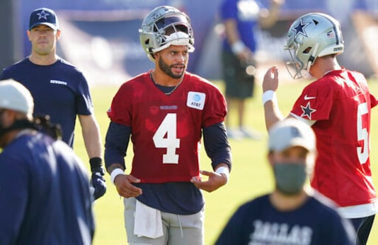 Sure sign of pandemic: Cowboys cope with Texas heat for camp