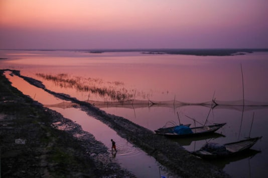 Ganges River flows with history and prophecy for India