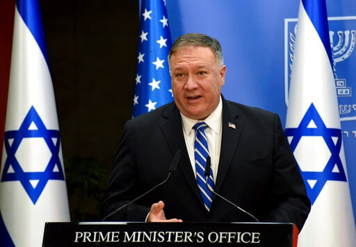 The Latest: Democrats Slam Pompeo For GOP Speech From Israel