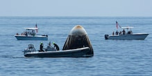 SpaceX Dragon Capsule 'Came Alive' and 'Sounded Like a Beast' on Descent, Say Astronauts
