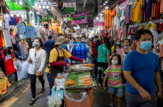 Thai economy shrinks 12% in 2Q, worst decline in 22 years