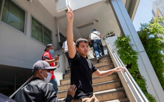 Thai Police Continue Crackdown On Pro-democracy Activists