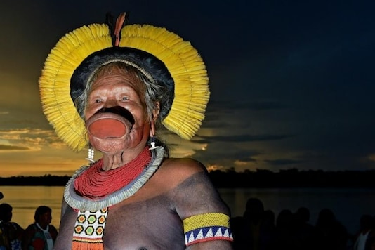 The 90-year-old chief Raoni Metuktire of the Kayapo tribe is 'stable' after being diagnosed with Covid-19
