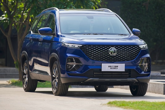 MG Hector Plus. (Photo: MG Motor India)
