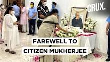Pranab Mukherjee's Last Rites Performed With State Honour