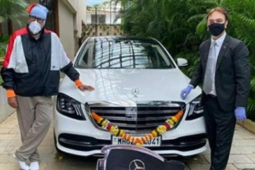 Amitabh Bachchan Buys a New S-Class Mercedes, See Pic