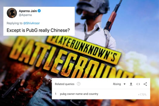 Is PUBG a Chinese a app? The answer is both yes and no | Image credit: Reuters/Twitter