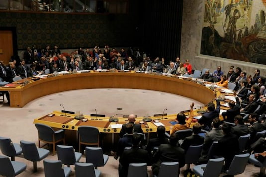 Representative photo of the United Nations Security Council. (Reuters)