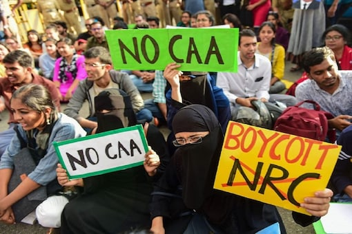 File photo of an anti-CAA protest (For representation)