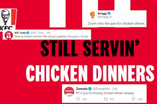 Swiggy Zomato, KFC, Oven Story were some of the brands who made pun to roll out offers after PUBG ban.