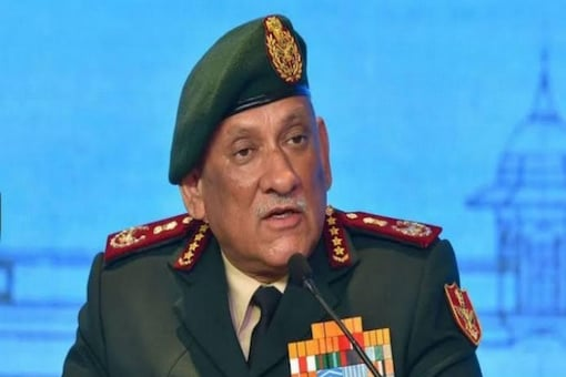 File photo of Chief of Defence Staff General Bipin Rawat. (ANI)
