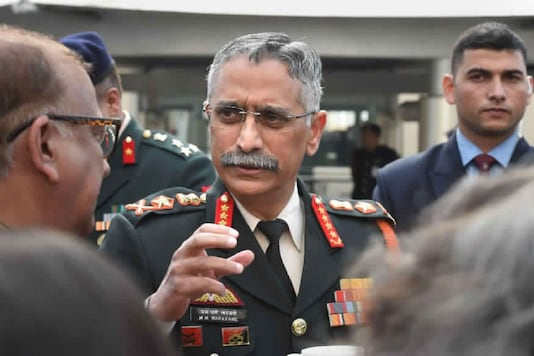 File photo of Army Chief General MM Naravane. (PTI)