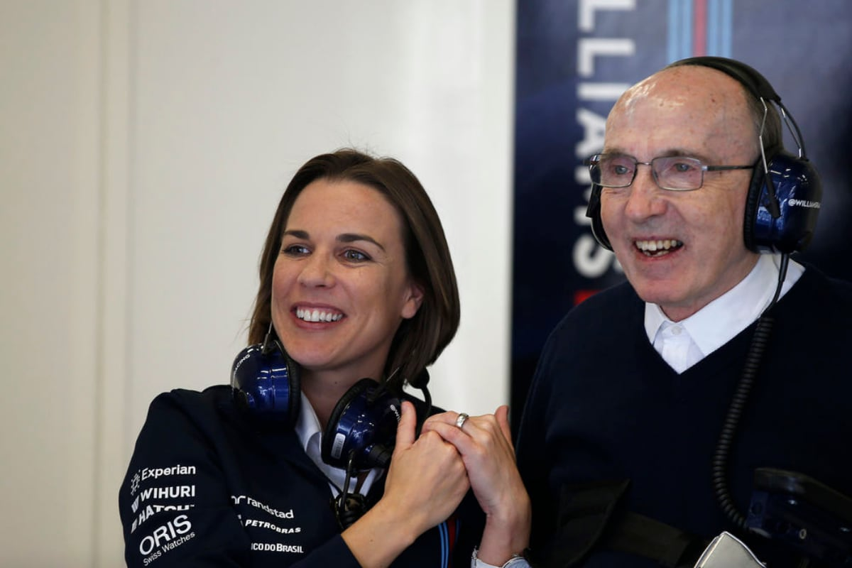 Claire Williams Reveals Family F1 Team S New Owners Wanted Her To Stay