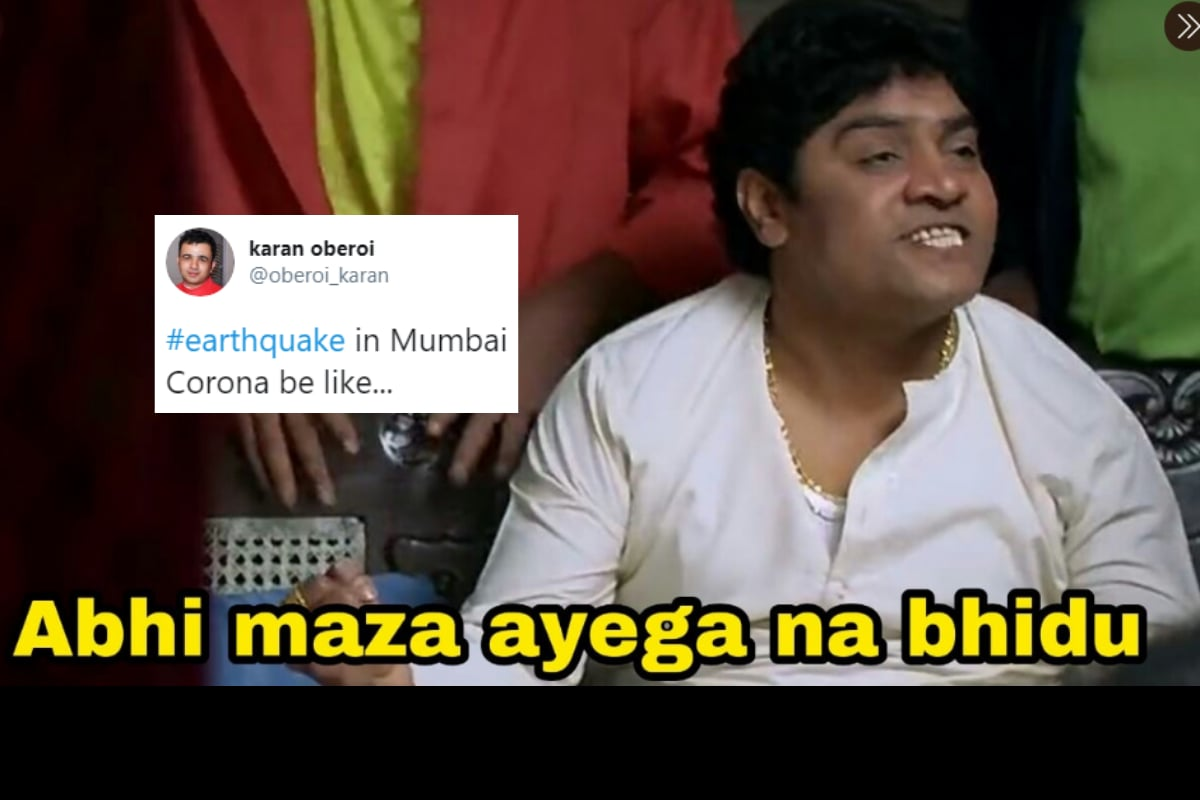 'First Corona, Now This': Dank Memes Strike Again as Earthquake Jolts Mumbai, Nashik