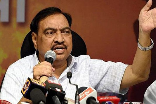 File photo of Eknath Khadse.