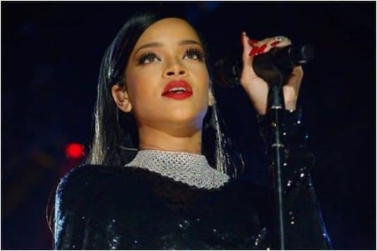 Rihanna in a file photo.