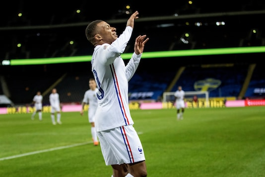 Kylian Mbappe scored for France. (Photo Credit: Reuters)