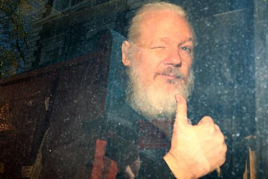 File photo of Julian Assange (Reuters)