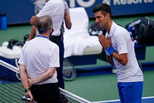 Novak Djokovic was defaulted from US Open. (Photo Credit: AP)