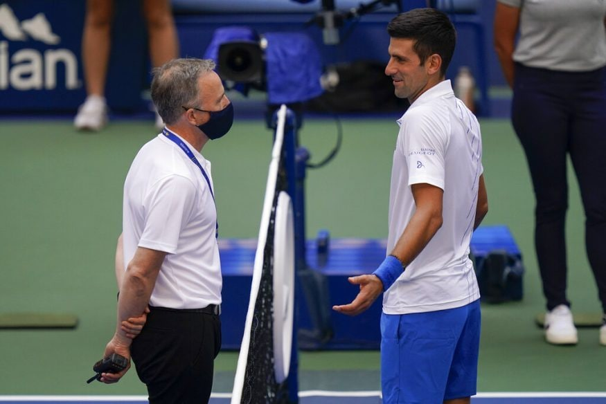 Novak Djokovic Kicked Out Of Us Open 2020 After Hitting Line Judge With Ball Photogallery