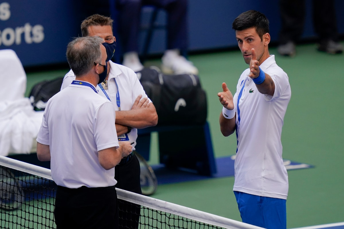 What Happened With Novak Djokovic At Us Open What Is The Rule That Got Him Disqualified