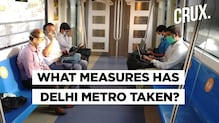 Here's How Delhi Metro Services Resumed In The Capital